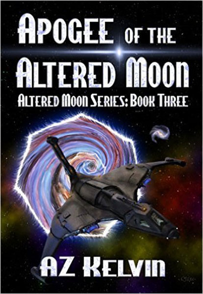 Apogee of the Altered Moon by AZ Kelvin, edited by Nikki Busch Editing