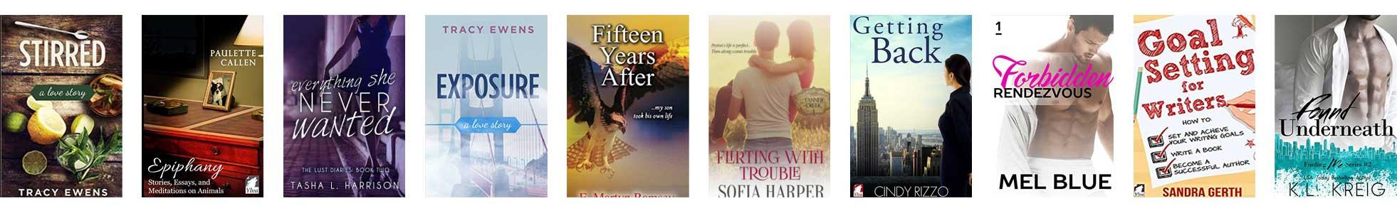 Nikki Busch Editing, Portfolio of Books